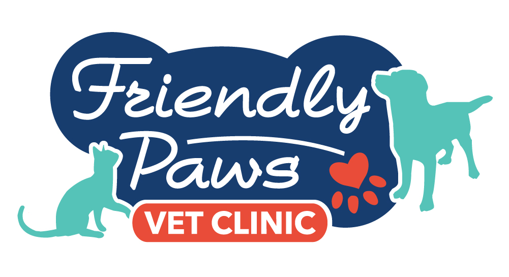 Friendly Paws Vet Logo